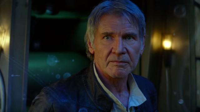 """""""It's true. All of it"""". Harrison Ford is a true delight again as Han Solo."""