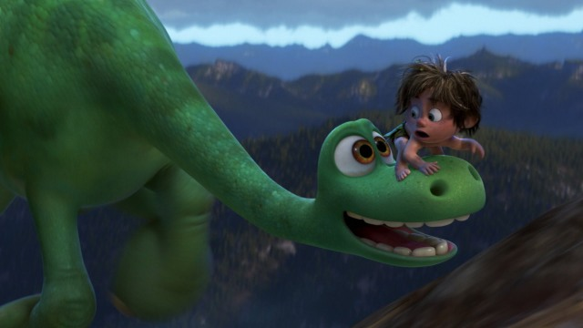 Pixar goes for broke with two in 2015, with partial success.