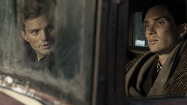 Jan Kubis (Jamie Dornan) and Josef Gabcik (Cillian Murphy) in Anthropoid