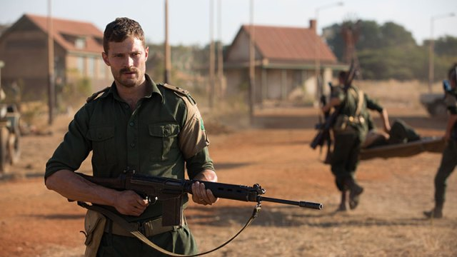 Commandant Pat Quinlan (Jamie Dornan) in The Siege Of Jadotville